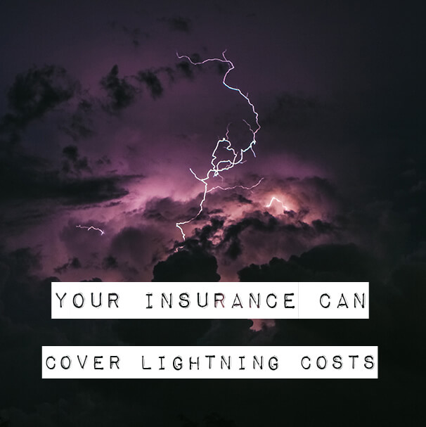 lightning insurance costs