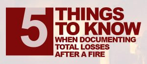 Things to Know When Documenting Total Losses After a Fire Gold Coast Public Adjuster