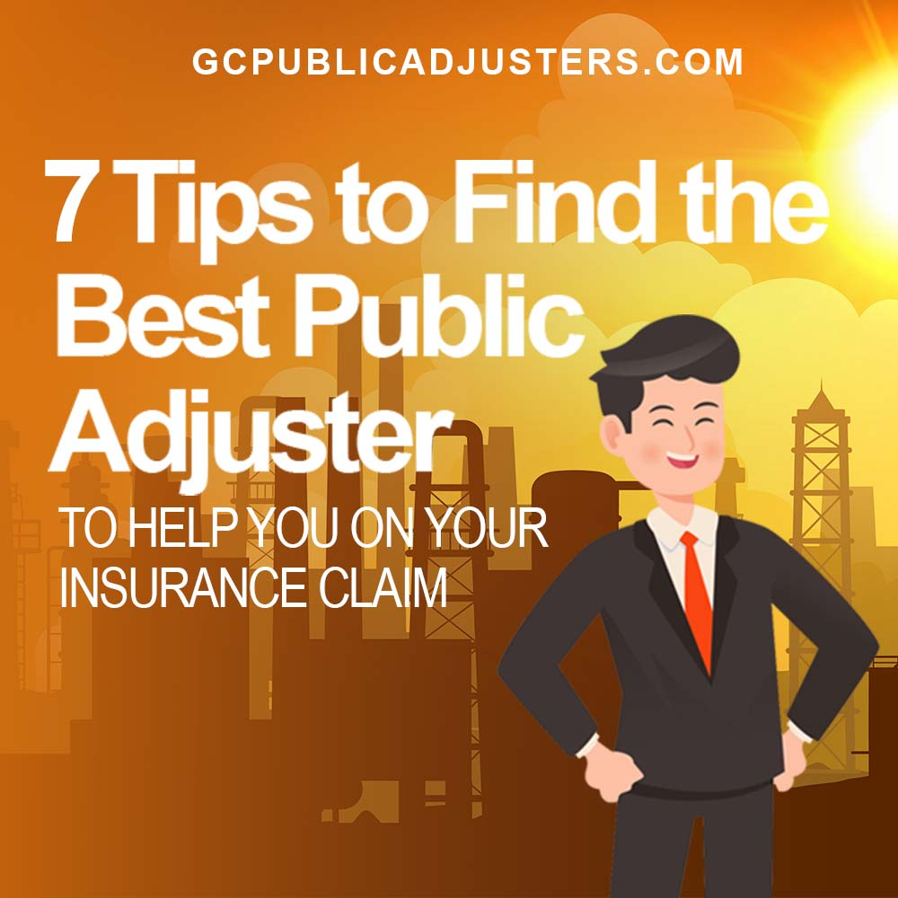 Hire a Public Adjuster