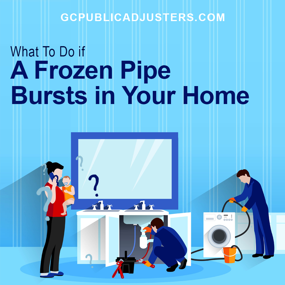 Frozen Pipe Bursts
