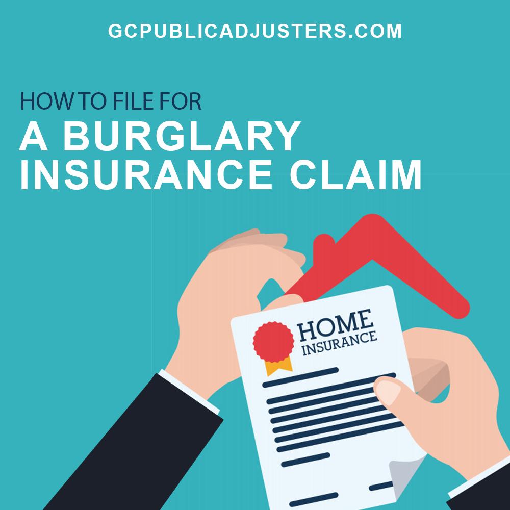 Burglary Insurance Claim
