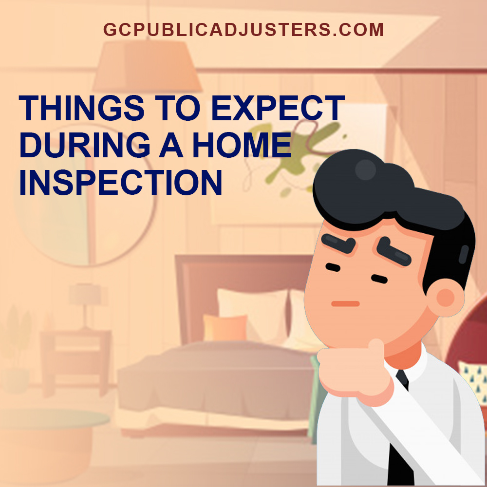 Thins to expect during a home inspection