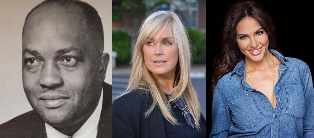 Tiffany Fallon, Catherine Hickland and James A. Dallas