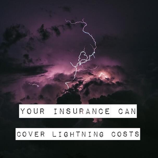 lightning insurance costs